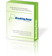 Breaking Away GoldMine CRM overlay financial professionals