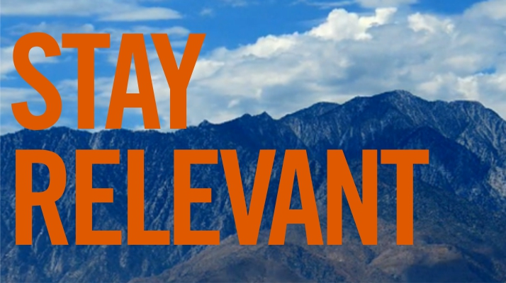 staying relevant Keep your content marketing efforts current learn how to stay on top of trends, craft personalized content, and create a lasting relationship with your customers.